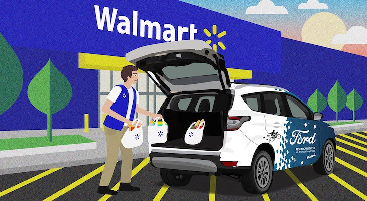 Walmart and Ford Partner for Self-Driving Home Delivery